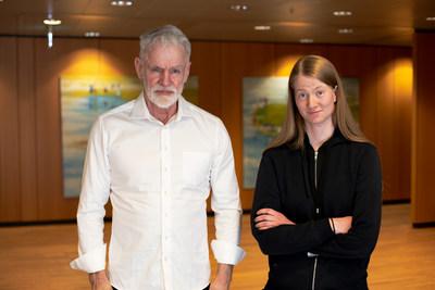 Kari Stefansson and Thjodbjorg Eiriksdottir