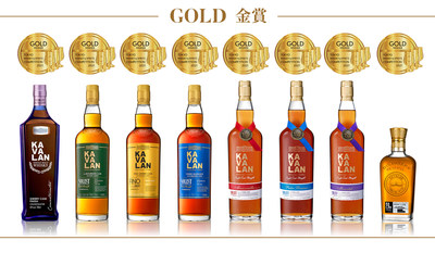 Kavalan awarded 8 Golds in 2021 TWSC