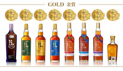 Kavalan recibió 8medallas Gold en la TWSC2021