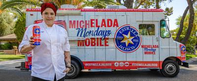 """Estrella Jalisco lanza la Classic Michelada y anuncia """"Michelada Mondays"""" en alianza con Tastemade y la Chef Maria Mazon, ofreciendo a los fanáticos la oportunidad de ganar un día libre remunerado, además de un festín de Michelada."""
